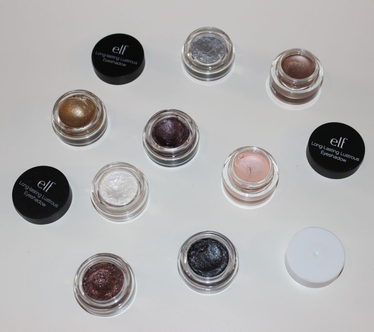 Cream eye shadow options from eyeslipsface.com (ELF)