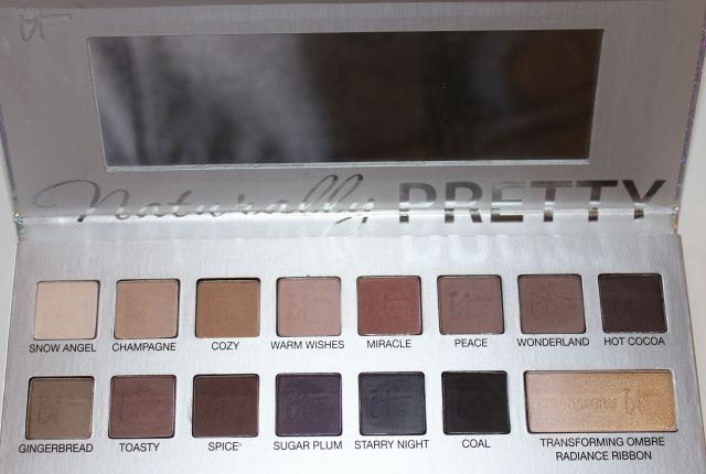 It Cosmetics Limited Edition Naturally Pretty Celebration Matte Luxe Transforming Eyeshadow Palette