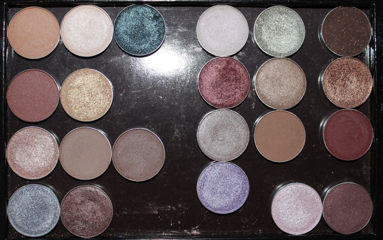 Assorted Makeup Geek Eye shadows