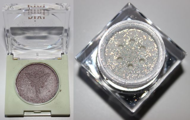 Left- Pixi Beauty Fairy Light Solo in BoHo Bronze Right- Lit Cosmetics Sparkle in Hello Sunshine