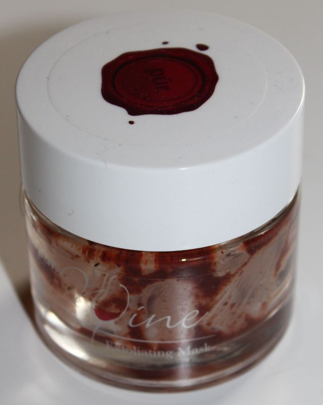 Pur Minerals Wine Exfoliating Mask