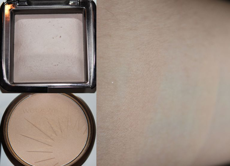 Top: Hourglass Ambient Lighting Powder in Dim Light Bottom: Wet n' Wild Reserve Your Cabana