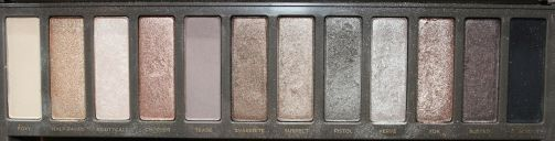 Urban Decay Naked2 Palette: YDK= 3rd shade from the right