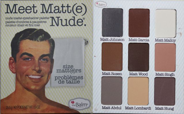 The Balm Meet Matt(e) Nude