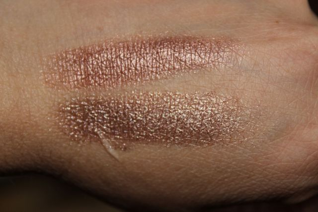 Top: Pur Minerals Filter, Bottom: Urban Decay YDK