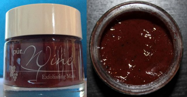 Pur Minerals Exfoliating Wine Mask