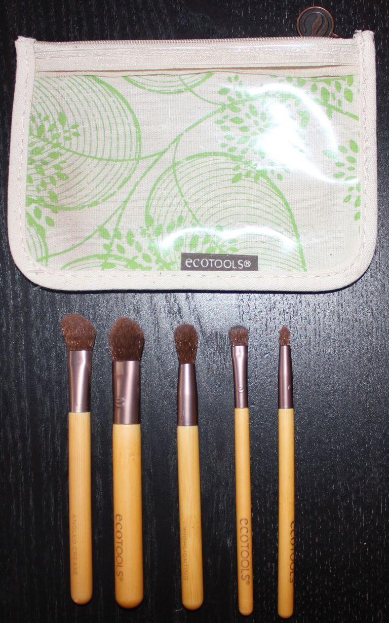EcoTools 5 piece brush set with case