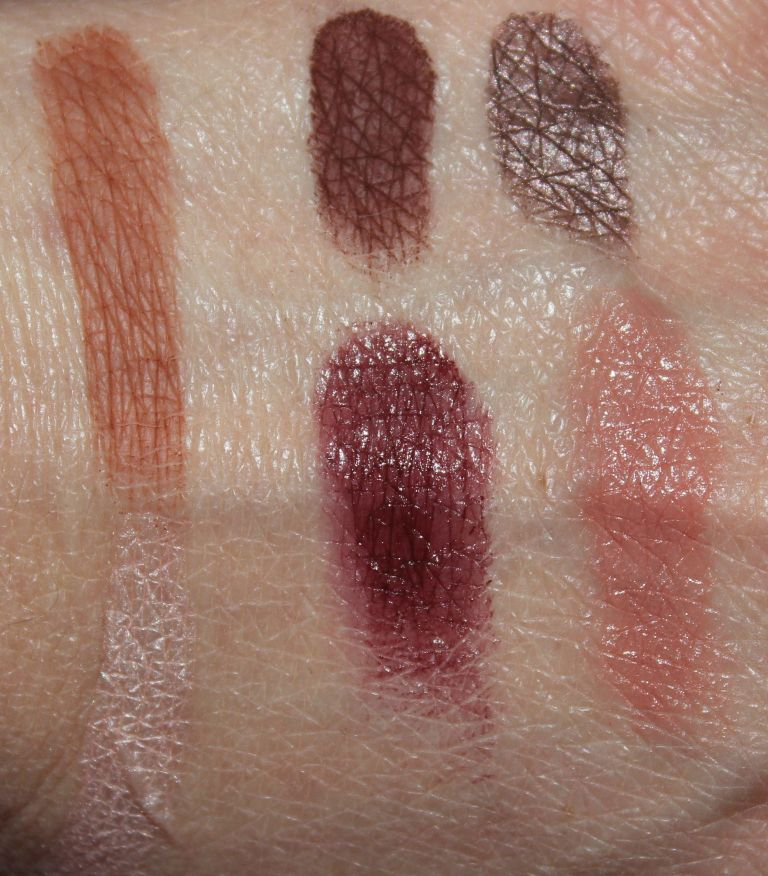 Cate McNabb Magnificent Mistress swatches
