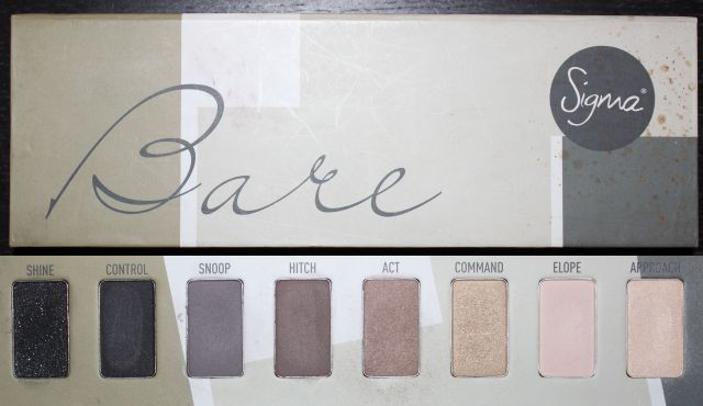 Sigma Bare Palette