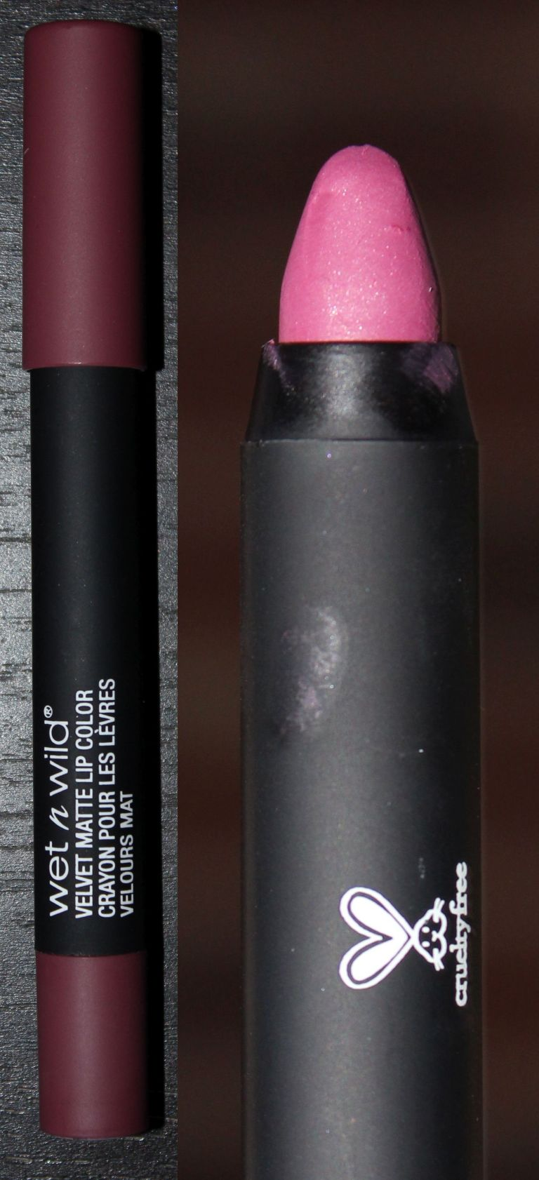 Wet n Wild Velvet Matte Lip Color in Charred Cherry