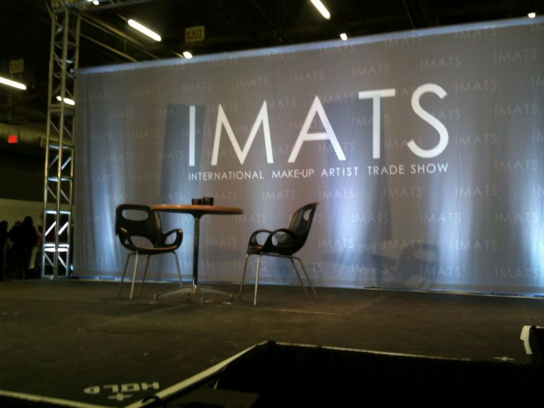 waiting for Ms. Eldridge IMATS NYC 2016
