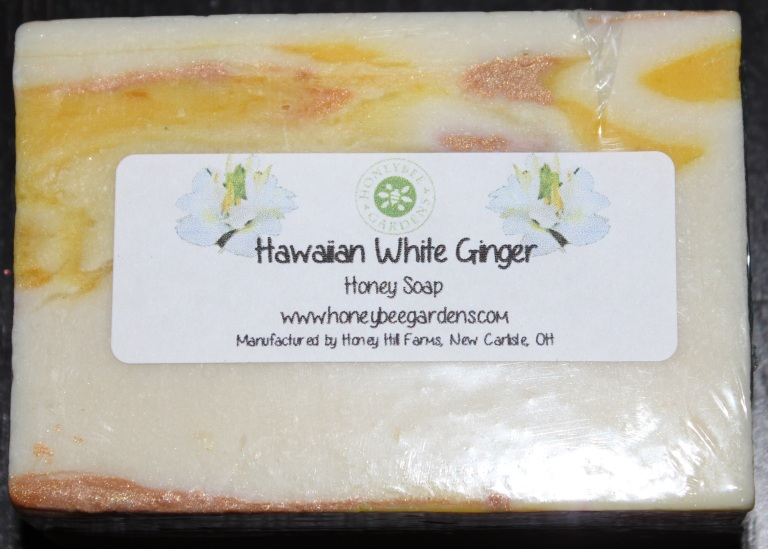 Honeybee Gardens Hawaiian White Ginger Honey Soap