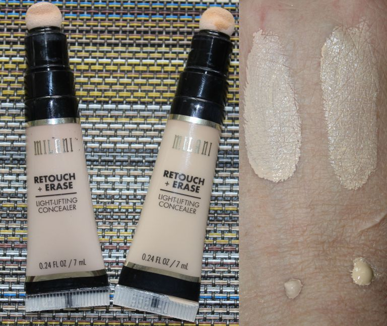 Milani Retouch + Erase Light-Lifting Concealer