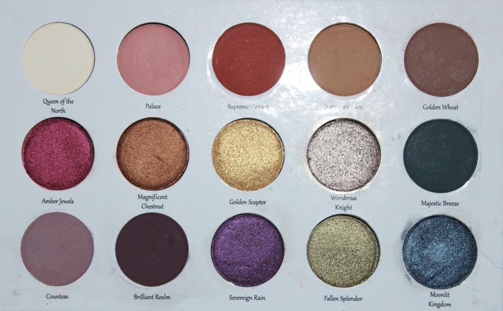 Sydney Grace Autumn's Reign palette