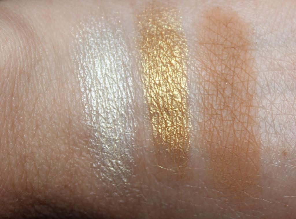 Sydney Grace golden eye shadows