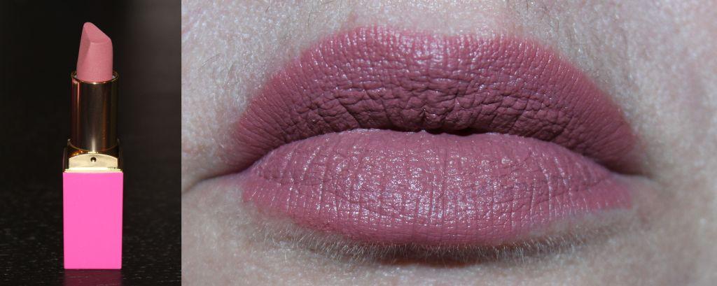 Juvia's Place A Mauve Moment lipstick lip swatch