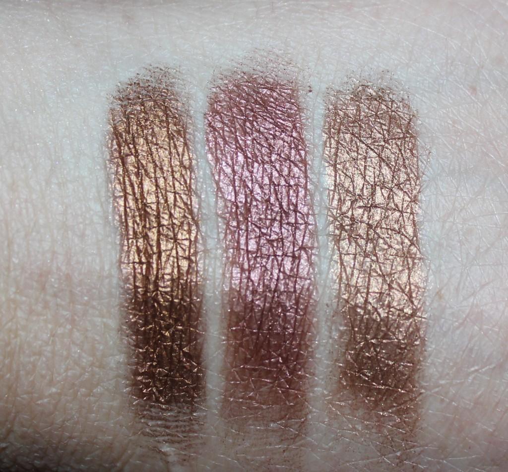 Sydney Grace bronze eye shadows
