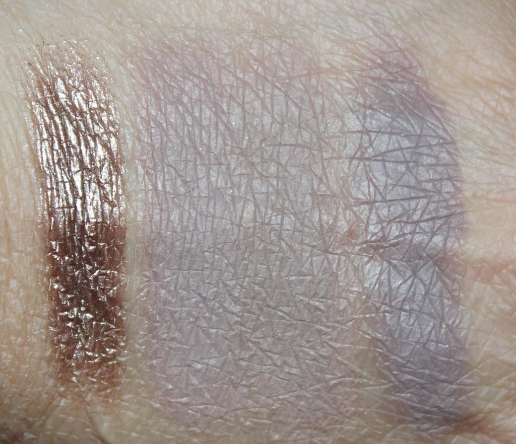 Sydney Grace silvery gray eyeshadows