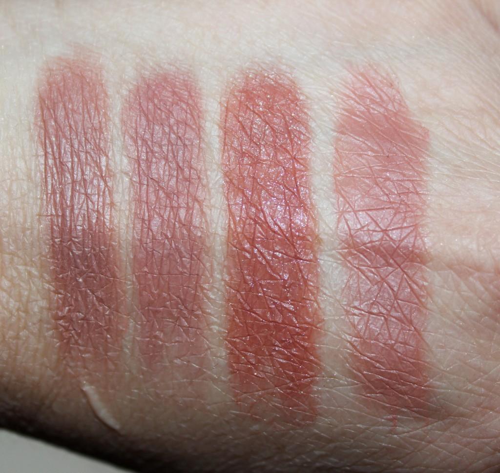 Sydney Grace burgundy eye shadows
